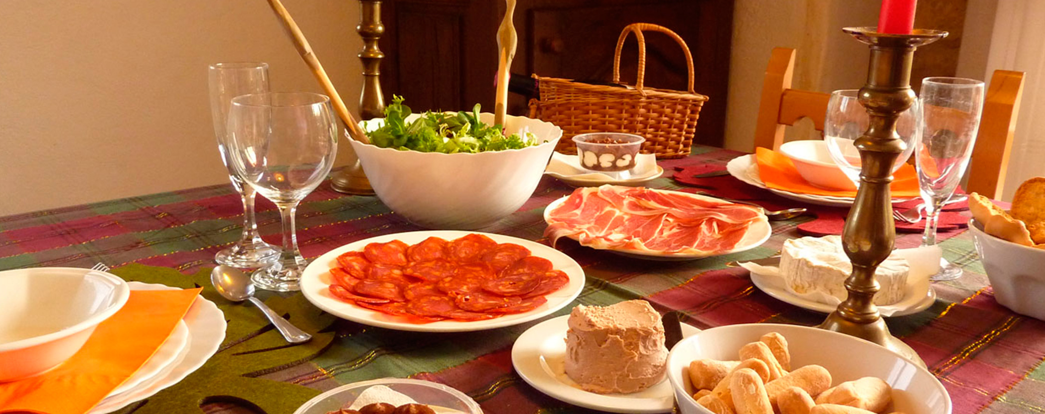 Cold dinner for two 12 50 per person casa rural atostarra - Cena romantica a casa ...